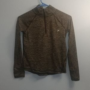 Old Navy Active girls black/gray pullover